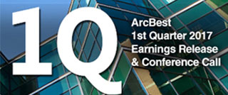ArcBest 1Q 2017 Earnings Conference Call