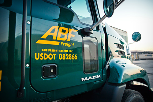 ABF Freight Clerk Helps Production Assistant