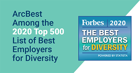 ArcBest Named to 2020 Best Employers for Diversity List