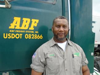 Customer: ABF Freight Driver 'Extremely Polite, Professional'