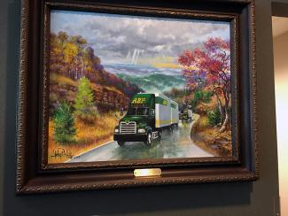 Throwback Thursday: 2013 — One-of-a-Kind Painting Celebrates 90th Anniversary