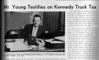 Throwback Thursday: 1961 — Company President Testifies Before House Committee