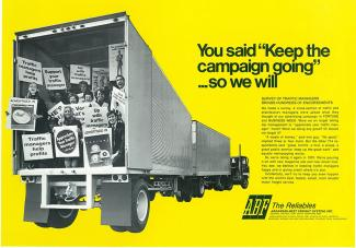 Throwback Thursday: 1970 — ABF Freight's 'Appreciate Your Traffic Manager' Campaign A Hit