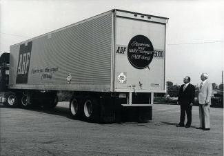Throwback Thursday: 1977 — ABF Freight Trailers Reflect 'Traffic Manager' Ad Campaign